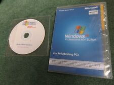 MS WINDOWS PRO XP x64 Professional Edition Refurbished PCs w/ LICENCE KEY SP 1,