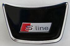 Audi A3 8V original S-Line Lenkradclip Logo Schriftzug Emblem Lenkrad S3 RS3