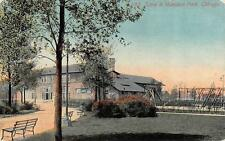 CHICAGO, IL  Illinois     HAMILTON PARK  Children's Playground    1912 Postcard