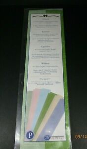 Creative Memories Whimsy 12 Great Lengths Printed Vellum Photo Paper Brand New