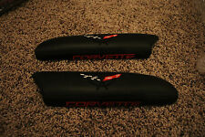 1997-2004 C5 Corvette Genuine Leather Door Arm Rest Pads Black
