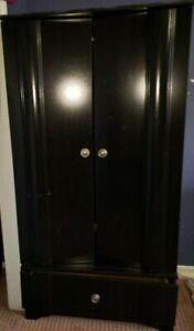 armoire closet wardrobe