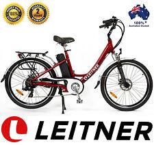NEW Leitner Electric Bike Ebike Bicycle Step Through 250w 36V 10Ah Lithium