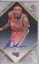 JERMAREO DAVIDSON 2007-08 Upper Deck SP Rookie Edition Autographed Card #88