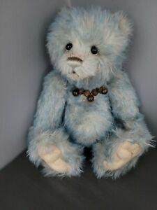 Charlie Bears Pookie Blue Mohair Bear