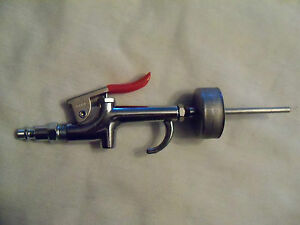 "Golf Grip Install Air Tool, All Metal, Stubby Gun,1.5""XL Cup,fits all Grip Sizes"