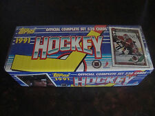 1991-92 Topps Hockey---Complete Set---Factory Sealed---Amonte, LeClair RC's-Mint
