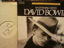 "david bowie"" An Evening With david bowie""usa.1978.rca:djl1-3016.rare.promo radio"