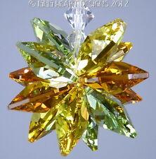 m/w Swarovski Crystal Star Autumn Leaves Colors Sun Catcher Lilli Heart Designs
