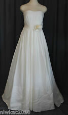 J CREW CORLISS WEDDING BALL GOWN IVORY SIZE 2 NEW WITH TAGS!