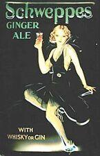 Schweppes Ginger Ale Stahl-Kühlschrankmagnet (hallo)