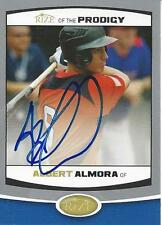 Albert Almora Chicago Cubs 2012  Rize of the Prodigy Signed Card