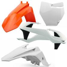 Polisport MX Plastics Kit - KTM SX65 16-17 - OEM (17 White/Orange)