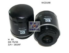 WESFIL OIL FILTER FOR Skoda Roomster 1.2L TSi 2012 06/12-on WCO198