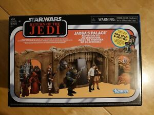 """2019 STAR WARS 3.75"""" INCH VINTAGE COLLECTION - JABBA'S PALACE SET Han, Ree yees"""