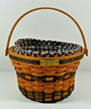 New ListingLongaberger Basket Jw Collection Miniature 1998 Edition Apple Basket Liner,Prote