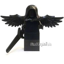 C110 Lego Falling Angel Dark Angel Minifigure with Black Grandsword NEW