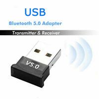 MINI USB BT Bluetooth 5.0 Dongle Stick Adapter KABELLOS Computer Laptop Audio-E