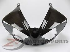 2003-2005 R6 2006-2009 R6S Upper Front Nose Headlight Cowl Fairing Carbon Fiber