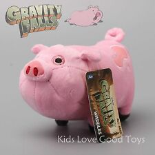Gravity Falls Waddles the Pink Pig Plush Toy Soft Stuffed Animal Doll U.S SELLER