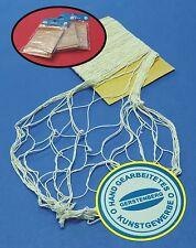 3-STÜCK Fischernetz aus 100% Baumwolle je 150 x 200cm zum SONDERPREIS   520003-3