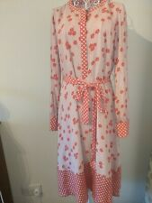 BNWT BODEN PINK & RED FLORAL DRESS SIZE 14L