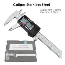 Stainless Steel LCD Digital Caliper Vernier 6 inch 150mm (with box)