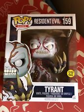 FUNKO RESIDENT EVIL Tyrant #159 GLOWS IN THE DARK EXCLUSIVE EDITION Nuevo