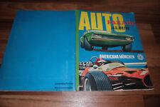 SAMMELBILDER-ALBUM:  AUTO PARADE ALBUM -- von AMERICANA 1974