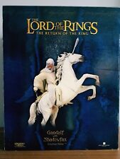 Sideshow Lord Of The Rings Return of the King Gandalf Shadowfax Statue figure
