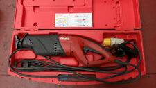 HILTI WSR 1200PE   RECIPROCATING SAW  110 VOLT WITH CARRY CASE £200 + VAT