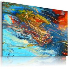 MODERN OIL PAINTING ABSTRACT PRINT CANVAS WALL ART PICTURE AB733 MATAGA .