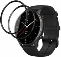 2X Pellicola 3D Copertura Totale Vetro Temperato per Huawei Watch GT2  (46mm)