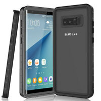 For Samsung Galaxy Note 8 Note 9 Waterproof Case Cover Built in Screen Protector