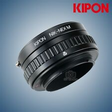 Kipon Adapter with Focus Helicoid for Nikon F Mount Lens to Sony E NEX A7R2