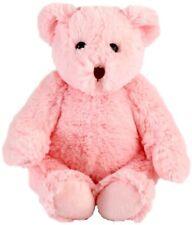 "Lot of 12 Wholesale 10-12"" Plush Stuffed Teddy Bears Bear Toys - Pink Bear"