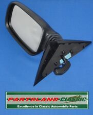 Austin Rover 200/400 Wing Mirror Assembly remote control RH Black CRB10056