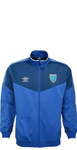 Umbro Men's Full Zip Guatemala Jacket, Blue