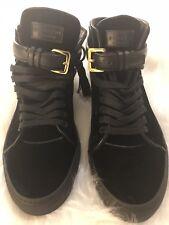 e85bcf7b6dfd Buscemi Mens 100mm Tassel Velvet Hi Top Designer Sneakers Size 10
