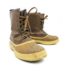 Sorel Artic Pac Brown Winter Snow Boots Mens Size 9