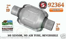 "92364 Eastern Universal Catalytic Converter ECO III Catalyst 2"" Pipe 6"" Body"