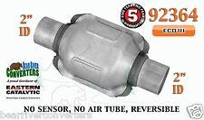 "Eastern Universal Catalytic Converter ECO III Catalyst 2"" Pipe 6"" Body 92364"