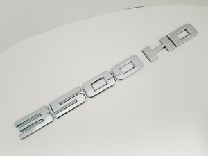 CHROME 3500HD FIT Chevy REAR TRUNK EMBLEM Chevrolet NAMEPLATE BADGE NAME 3500 HD