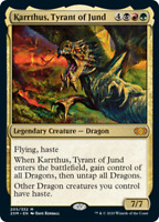 Karrthus, Tyrant of Jund - X1 FOIL - Double Masters - M205/332 - 4RCards