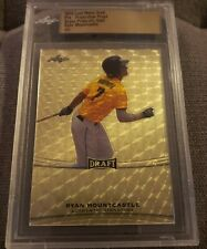 2015 Leaf Metal Draft Ryan Mountcastle RC Super Prismatic Gold 1/1 Slabbed Proof