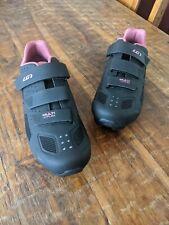 Women's Louis Garneau Multi Air Flex Bike Shoes, HRS-80, Black-Pink size 11.5