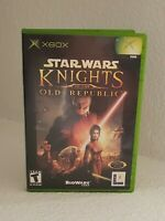 Star Wars Knights of the Old Republic (Original Xbox) CIB. Tested and working.
