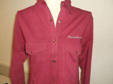 Harley-Davidson Women's L/S Ruby Pink snap shirt / jacket 98258-95VW M RUNS BIG