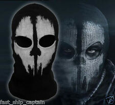 Call of Duty 10 face skull mask GHOSTS SKELETON Halloween Army Soldier Costume