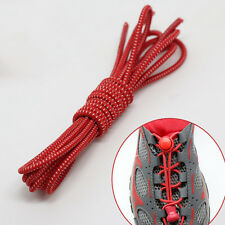 2x Elastic No-Tie Locking Shoelaces Shoe Laces With Buckles For Sport Shoes**